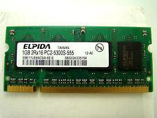 El pida 1gb pc2-5300s ddr2 portátil RAM eul 11 UE 6 ACSA - 6e-e #kz-621