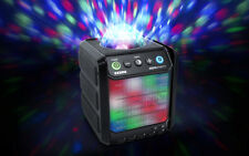 Ion Insta Party Rechargeable Bluetooth Wireless Speaker w/ Disco Party Lights