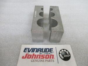 C11 Evinrude Johnson OMC 345828 Tube Holding Block OEM Marine Specialty Tool