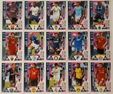 MATCH ATTAX 2018//19 ALL 15 TOP DEFENDER CARDS MT31-45 ALL LISTED ALL MINT