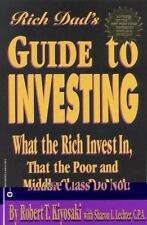 Rich Dad's Guide to Investing by Robert Kiyosaki FREE SHIPPING paperback book