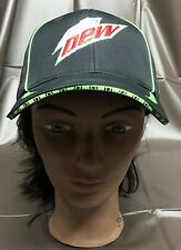 Mountain Dew Logo Hat Black Zero Zone 6 For 6 American Flag