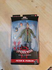 """Marvel Legends Peter Parker Action Figure 6"""" Stilt-Man BAF Spider-Verse IN STOCK"""