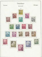 german 1954 stamps page ref 18722