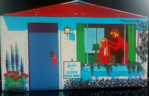 Barbie And Skipper Deluxe House Mattel 1965 E.C. Complete With Many Accessories