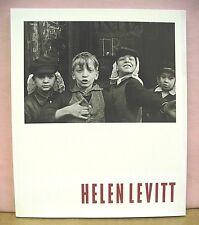 Helen Levitt by Sandra S. Phillips & Maria Morris Hambourg 1991 First