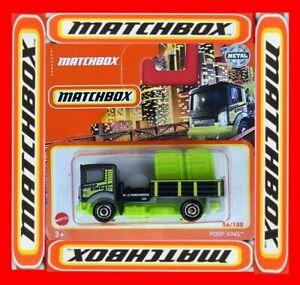 MATCHBOX 2021  POOP KING   56/100   NEU&OVP