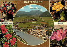 Rattenberg Radfeld Tirol Österreich Mehrbildkarte ungelaufen Postkarte ~1970