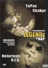 UNAUTHORIZED LEGENDZ OF RAP (TUPAC SHAKUR & NOTORIOUS B.I.G.) (DVD)
