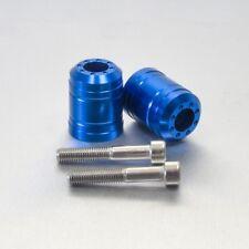 Pro-Bolt Aluminium Pair Bar Ends Kawasaki 10 - Blue Kawasaki ZXR750 L 93+