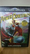 "Videospiel""Power Challenge""(Sega Mega Drive,Sega,Pal)Ovp   A762"
