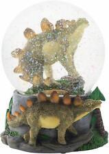 Stegosaurus Dinosaur Friends 100Mm Musical Water Globe Plays Born Free