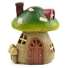 """Miniature Fairy Garden Dollhouse Light Up Mushroom House - 4.25"""" x 3.5"""" x 2.25"""""""