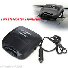 Portable 12V Car Vehicle Ceramic Heater Heating Cooling Fan Defroster Demister