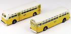 Two N Classic Metal Works Mini Metals TD 3610 GMC Bus LA Transit 52303