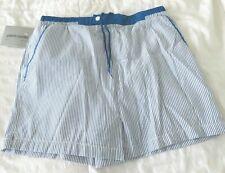 Pierre Cardin Vintage Swim Shorts Trunks Blue and White Size Medium NWT