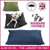 Waterproof Dog Bed Cushion Heavy Duty Cover Hardwearing Puppy Pet Mattress Tough