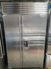 "Subzero 48"" Refrigerator / Freezer with Ice and Water Dispenser"