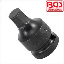 BGS - Allen Key 5 - 17 mm, STUBBY Impact Sockets x 42 mm, Multi Listing, 5485