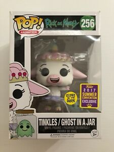 Rick And Morty Tinkles/Ghost In A Jar #256 Funko Pop Vinyl Rare Vaulted 2017