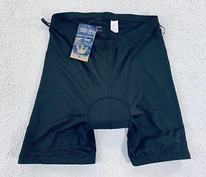 CANARI Cycling Mountain Mtn Bike Liner Padded Bottoms Shorts Black Mens Size XL