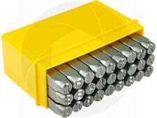 Steel Punch Stamp Die Set Metal Tool English Letters A to Z 27-Piece Set 6mm