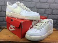 NIKE MENS UK 7.5 EU 42 AIR FORCE 1 2020 LOW DNA WHITE TRAINERS LADIES RRP £100 C