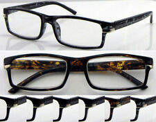 L158 High Quality Reading Glasses/Spring Hinges/Tortoiseshell Frame Designed ***