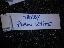 Tenby Interruptor Llano Blanco 20AX 250V 2020 1 vías como fotos de abajo
