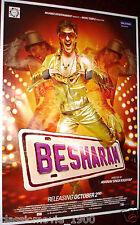 BESHARAM (2013) RANBIR KAPOOR, PALLAVI SHARDA, RISHI KAPOOR BOLLYWOOD POSTER #3