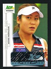 Akiko Morigami signed autograph auto 2013 Ace Authentic Grand Slam Tennis