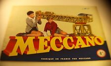 Meccano n° 4A manuel d'instruction 1957