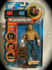 TRIPLE H wwf JAKKS WRESTLEMANIA XVII SERIES 9~incl.3-D Glasses/crate UNOPENED