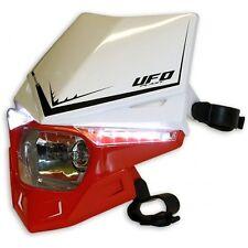 Portafaro Headlight Stealth UFO Rosso Bianco