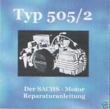 Sachs Hercules Motor Typ 505/2 Reparaturanleitung