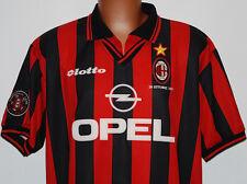 maglia milan VAN BASTEN addio baresi lotto 1997 1998 opel vintage shirt