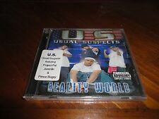 Usual Suspects - Reality World - New Orleans Rap CD - Juvenile Project Pat