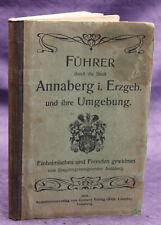 Ergebirgszweigverein Annaberg Führer durch die Stadt Annaberg i. Erzgeb. 1908 sf