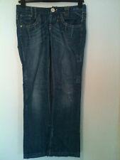 River Island Cotton Bootcut Jeans Women's Distressed