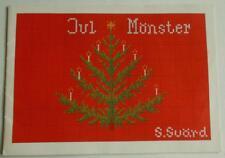 Swedish Xmas: Swedish vintage sampler book w cross-stitch patterns for Christmas