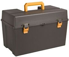 22 in Power Tool Box Portable Storage Organizer Garage Chest Tray Construction