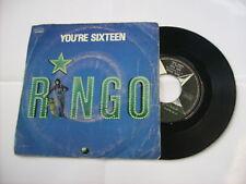 "RINGO STARR - YOU'RE SIXTEEN - 7"" VINYL ITALY 1974 VERY GOOD - BEATLES"