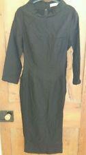 Vestiti da donna neri in misto cotone taglia XL