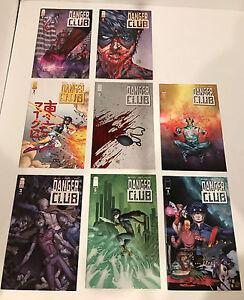 DANGER CLUB (2012) #1-8 COMPLETE SET  LANDRY WALKER IMAGE COMICS- FIRST PRINTS