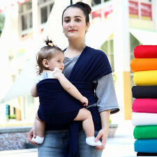 Baby Sling Stretchy Wrap Carrier Breastfeeding Newborn Birth + Free Carrier Bag