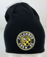 Columbus Crew SC adidas Black Winter Beanie Hat w/ Stitched Logo NWT