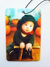YOUR PICTURE ON A RECTANGULAR AIR FRESHENER - PORTRAIT