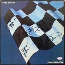 Cars - Ocasek, Hawkes, Easton & Robinson Signed Album Cover W/ Vinyl PSA #U14344