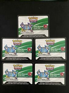 Pokemon Celebrations Code Cards 4 x Booster Pack + 1 x Deluxe Pin Collection