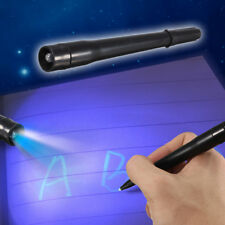 UV Light Pen Invisible Ink Security Marker Pen Ultra Violet LED Blacklight